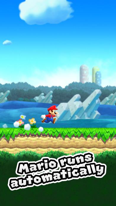 Super Mario em ação no Iphone! (Imagem: App Store)