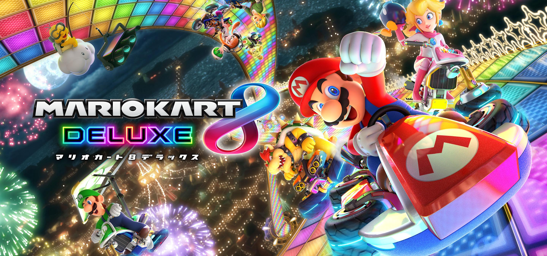 Mario Kart Deluxe 8 tem seu tamanho revelado (Imagem: Divulgação/Nintendo)