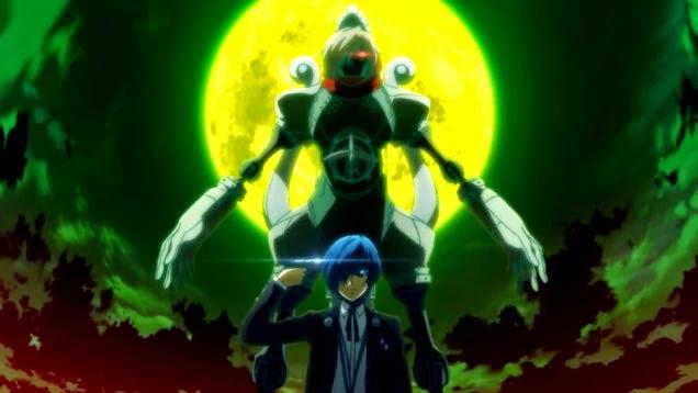 O protagonista descobre seu poder (Foto: Reprodução/Persona 3: The movie)