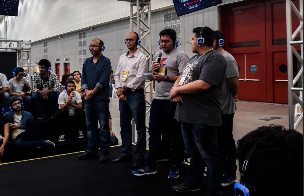 Apresentação oficial dos jogos vencedores