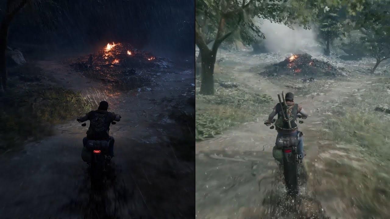 Dia e noite. Ative o HDR para ficar ainda melhor!