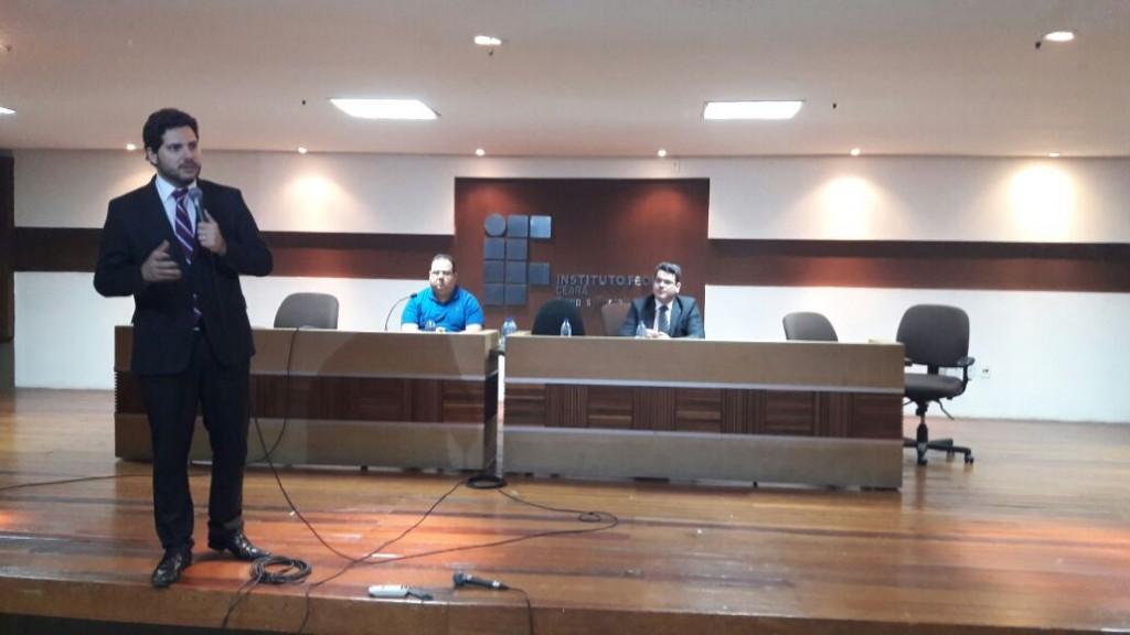 André Peixoto no Ideias em Jogo 12 (Foto: UCEG)